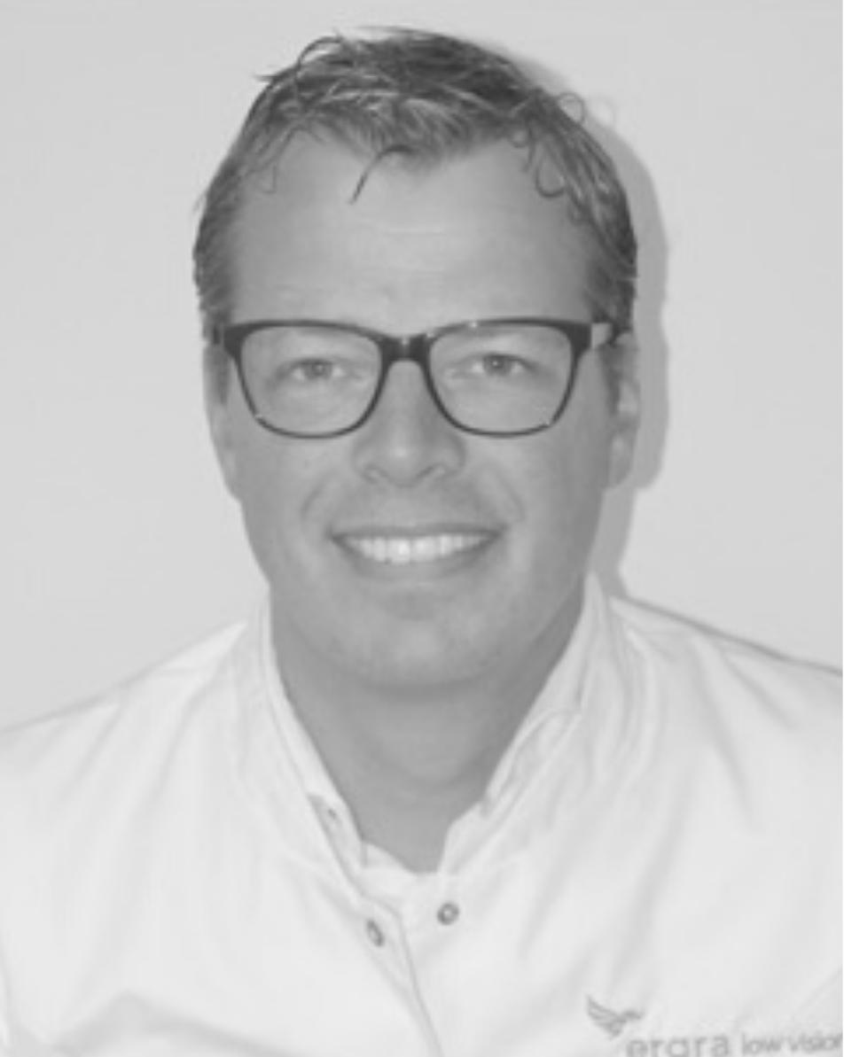 Low Vision Optometrist, Jos van Dijk