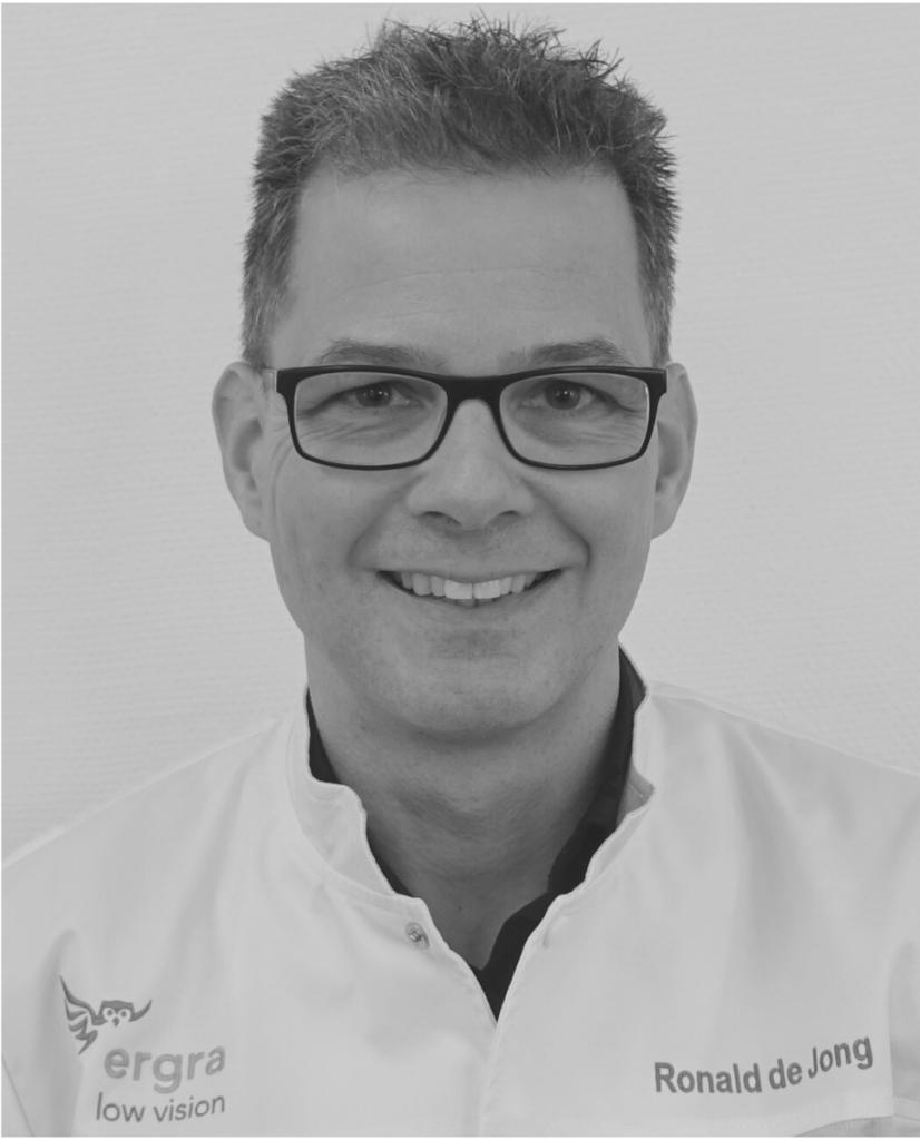 Low Vision Optometrist, Ronald de Jong