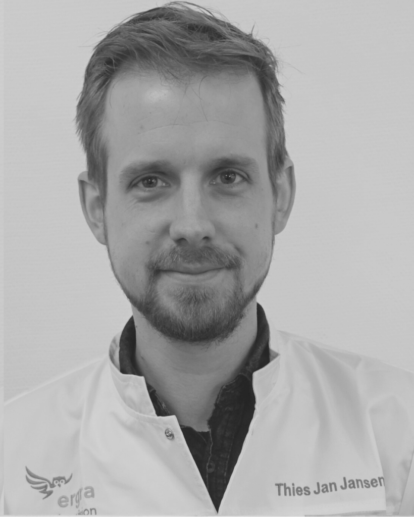 Low Vision Optometrist, Thies Jan Janssen