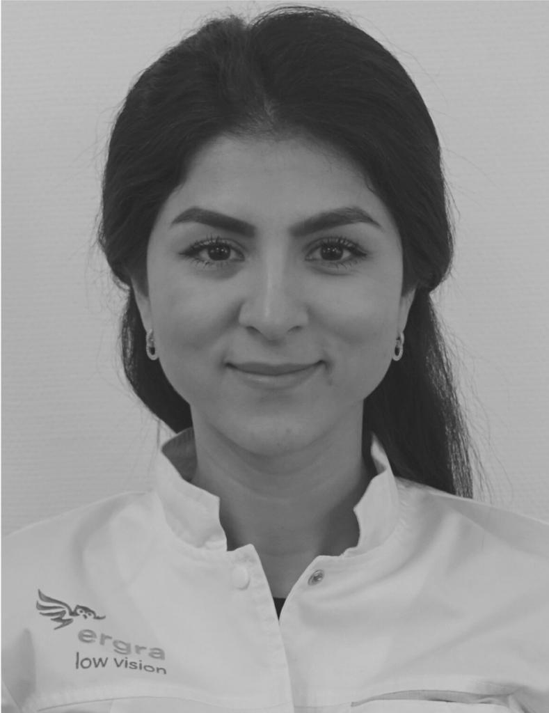 Low Vision Soecialist, Tahmina Sarwary