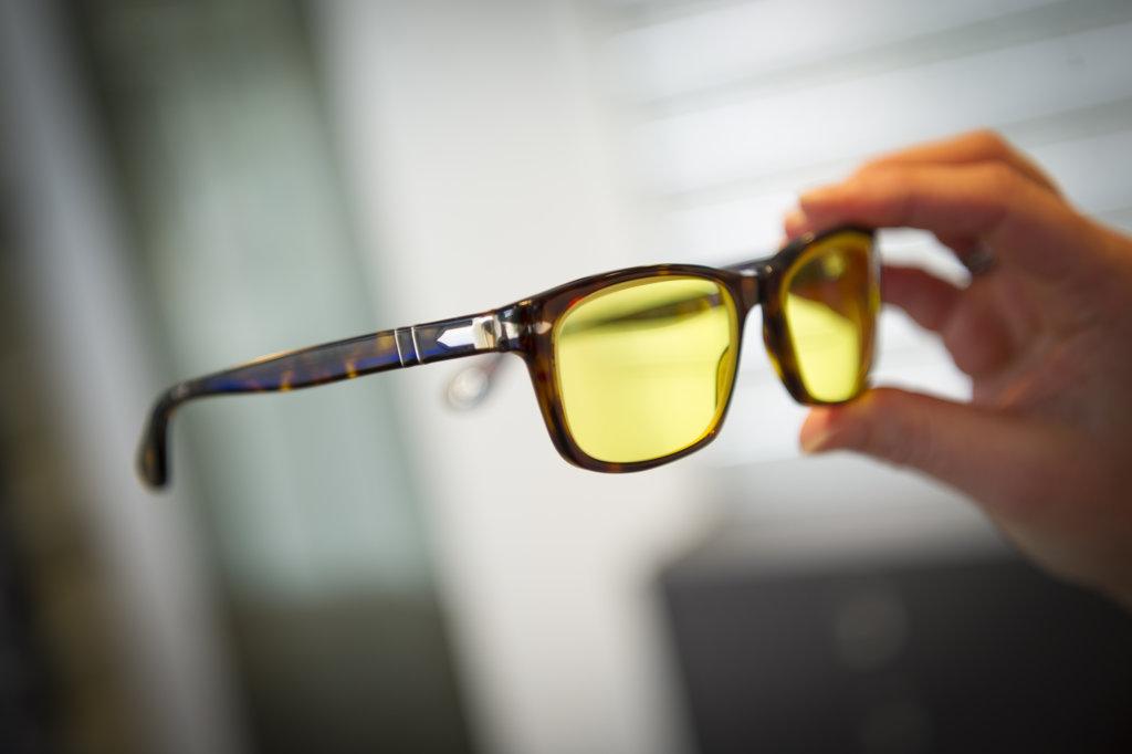 Een voorbeeld zichtoplossing; een bril voor de verte